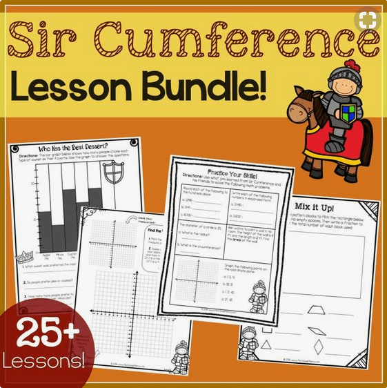sir cumference lesson bundle